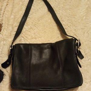 Coach XL Crossbody Leather Bag